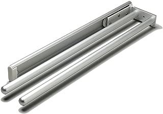 Chrome Finish 2 Bar Towel Rack