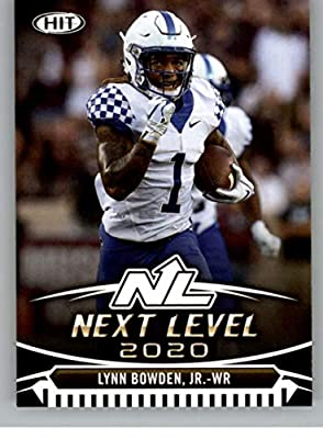 2020 SAGE HIT Premier Draft (NFL) #50 Lynn Bowden Jr. Kentucky Wildcats Pre-Rookie RC Official Player Licensed Football Trading Card