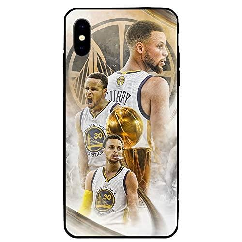Funda para iPhone XR, diseño de estrella de baloncesto para iPhone XR (Curry-6)