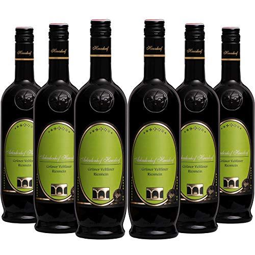 Grüner Veltliner Riesmein 2019 (6x 0.75l) | Weißwein trocken, histaminfrei, biologisch, vegan | Qualitätswein Österreich, Wagram