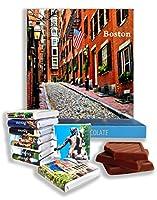 面白いボストンシティフードギフト⌘「BOSTON」⌘ボストンの素敵なチョコレートセット! (通り)