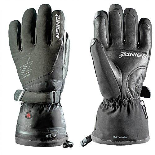 Zanier Herren Heat.ZX 3.0 Handschuhe, schwarz, S