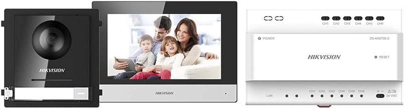 """Kit de videoportero Hikvision IP 2 Hilos Monitor 7"""" DS-KIS702"""