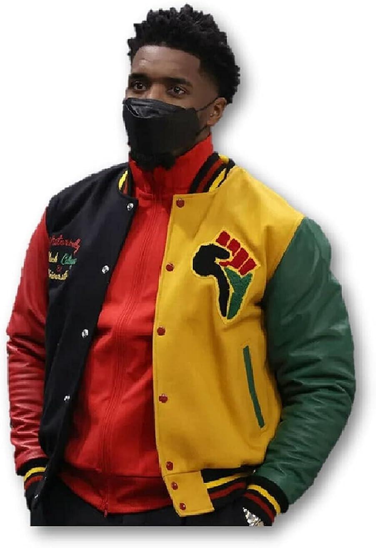 SLG - Mens HBCU Donovan Mitchell Pride Varsity Jacket Letterman Jacket