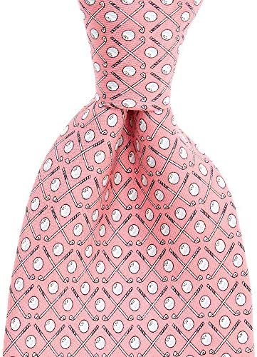 vineyard vines Men s Novelty Necktie Golf Club Pink One Size product image