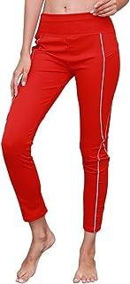 Qootent Women Yoga Pants Sport Gym Jogging Trouser Fitness Leggings with Pocket
