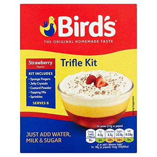 Bird's Strawberry Trifle, 5.10-Ounce (Pack of 4)