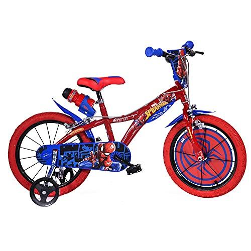 Dino Bikes Bicicletta 16'' Spiderman