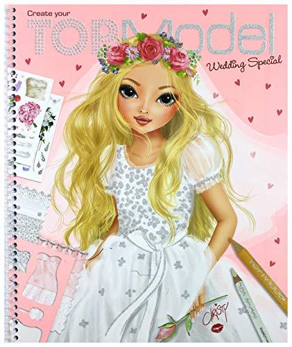 1 Create Your TOPModel Wedding Special Libro para Colorear