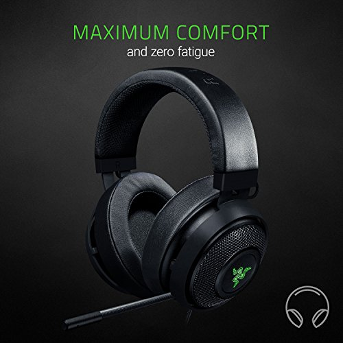 Razer Kraken 7.1 V2: 7.1 Surround Sound - Retractable Noise-Cancelling...