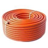 Quantum Garden LPG - Tubo de Calor de butano de propano (9 mm, 5 m), Color Naranja