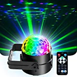 【Sound activated】Led dj dsco stage party lights ,Brand new, high quality, safe and reliable,sound activated,Change colors and speed based on changes in nearby music. 【7 Colors& 3 Mode With Remote control】7 colors of LED lights, according to your pref...