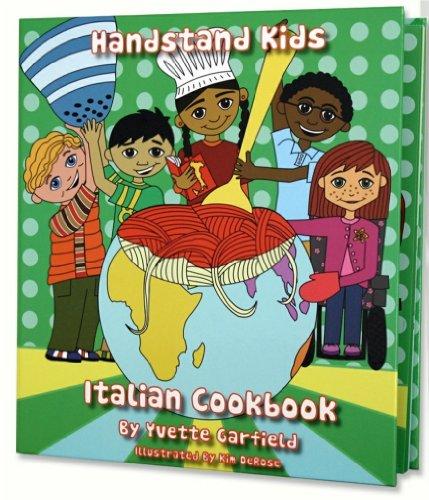 Handstand Kids Chef's Hat with Italian Cookbook