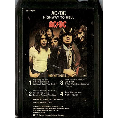 Ac Dc Highway To Hell Dirty Deeds Done Dirt Cheap Vintage