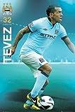 Fußball - Poster - Manchester City - Tevez 12/13 +