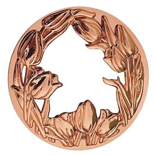 freneci Candle Topper Kerzendeckel Jar Candle Zubehör Alloy Shades Cover - Rose goldene