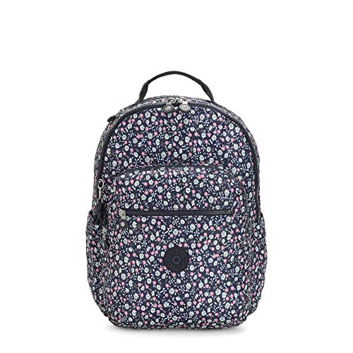 Kipling womens Seoul Laptop Backpack, Floral Rush, One Size