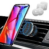 FLOVEME Soporte magnético para teléfono móvil de coche para smartphone con rotación de 360 grados, universal, para iPhone SE 2020 11 Pro XR XS x 8 7 Plus, Samsung, Huawei, Xiaomi, etc.