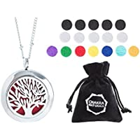 Chakra Naturals Essential Oils Diffuser Stainless Steel Locket/ Pendant