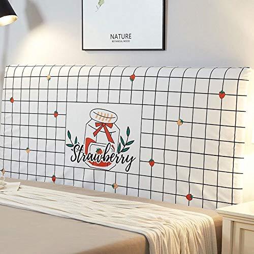 AIWEI Tête de lit Housse Dossier Couverture, Étendue Couverture Protecteur Lit Têtes de lit poussière Couverture (Color : Color 9, Size : 180cm)