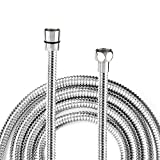 Shower Hose, 2 Meter/6.5 Ft/79 Inch Stainless Steel Replacement Shower Hose with Brass
