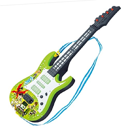 HYMAN Guitarra para niños, 4 Cuerdas Guitarra Eléctrica Instrumento Musical de Juguete...