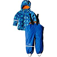 CareTec Chaqueta y Pantalón Impermeable Unisex Niños, azul (Sea Blue 706), 3 años