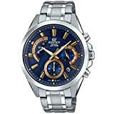 Casio Reloj Cronógrafo para Hombre de Cuarzo con Correa en Acero Inoxidable EFV-580D-2AVUEF