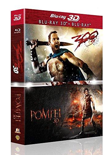 Coffret pompeii ; 300 la naissance d'un empire [Blu-ray] [FR Import]