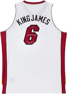 LeBron James Signed & Inscribed Miami Heat Swingman Nickname Jersey, UDA - Limited to 50