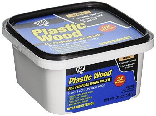 DAP 00525 Plastic Wood Filler, Natural