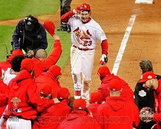 Photo File David Freese St. Louis Cardinals 2011 World Series Walk Off Home Run Celebration #3