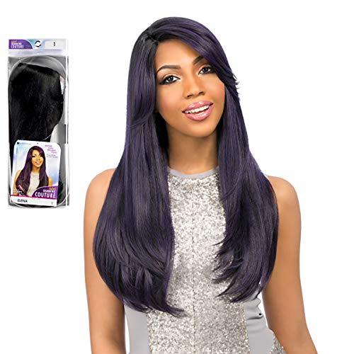 Perruque Sensationnel - Cheveux synthétiques - Couleur : 1B - Noir naturel
