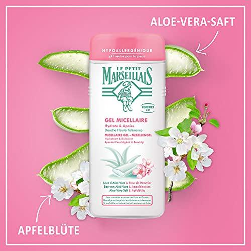 Le Petit MarseillaisMizellen DuschgelmitAloe-Vera-Saft&Apfelblüte(400 ml)