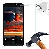 Lusee 2 x Pack Film de Protection écran en Verre Trempé Ultra Dure Verre trempé protège pour...