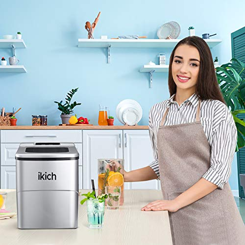 IKICH Portable Ice Maker Machine for Countertop