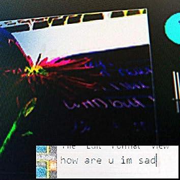 how are u im sad