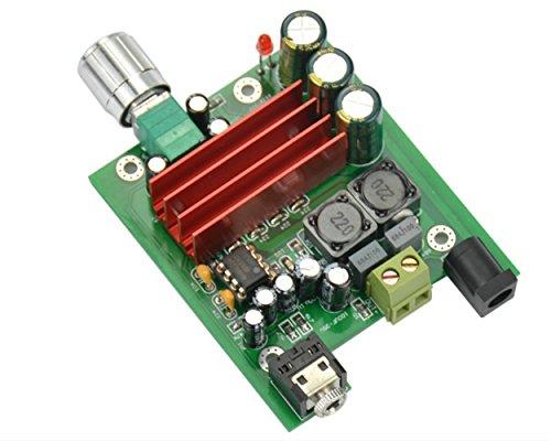 AOSHIKE 8-25V 100W TPA3116 Subwoofer Digital Power Amplifier Board TPA3116D2
