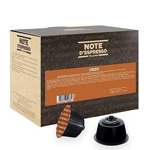 Note D'Espresso, Orzo, Capsule Compatibili Soltanto con sistema NESCAFE* DOLCE GUSTO*, 48 caps