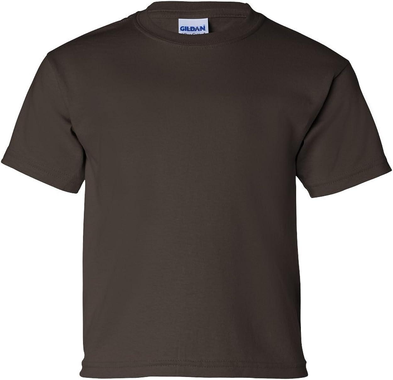 Cotton T-Shirt (G200B) Dark Chocolate, XS (Pack of 12)