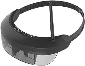 ZXGHS Vasos Digitales Multifuncionales, Gafas De Recepción Inalámbrica 5,8 G/Pantalla Virtual 98 Pulgadas, Ocio Al Aire Libre FPV Monocular Gafas Teatro