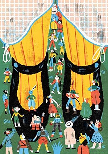 Hombre de dibujos animados de pies gigantes Rompecabezas 1000 piezas Adultos Puzzle DIY Niños Clásico Juego Divertido Ensamblaje desafiante Intelectual Arte De La Pared Decoraciones Casuales-50cmx75cm