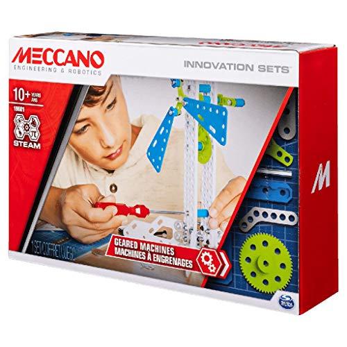 Meccano Inventor Set Creazioni con Ingranaggi, Kit di Costruzione S.T.E.A.M. dai 10 Anni