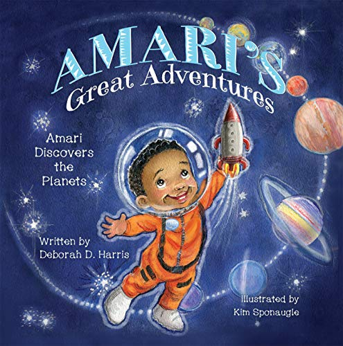AMARI\'S GREAT ADVENTURES: Amari Discovers the Planets (English Edition)