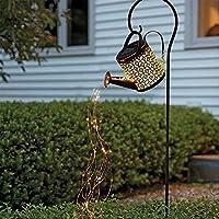 ソーラーじょうろは屋外のクリスマスツリーを照らすことができます庭芝生パティオヤードデコ、屋内用ブラケット付きステークライト