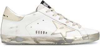 Golden Goose Mode De Luxe Femme GWF00101F00031610272 Blanc Cuir Baskets   Saison Permanent