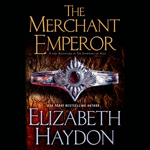 The Merchant Emperor audiobook cover art