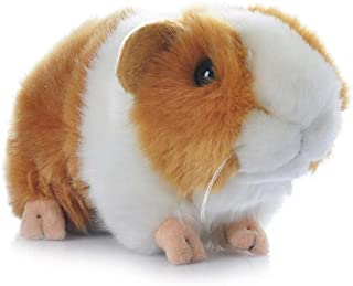 ChuXing 7'' Brown Guinea Pig Plush Toy Soft Cute Stuffed Animal Gift for Kids Creative Doll (Yellow+White)