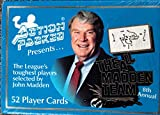 Action Packed Presents 'The Leagues's Toughest Players' 1991 NFL Football Cards Complete Factory Set of 52 Top Stars. 8th Annual All-Madden Team Series