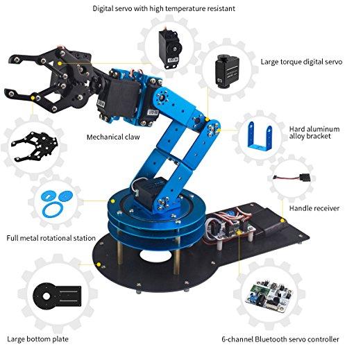 LewanSoul 6DOF Robotic Arm Kit